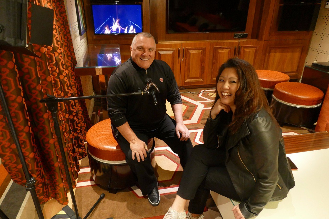 Rudy Ruettiger and Maria Ngo | VIP Showcase