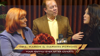 Drs. Karen & Darwin Perkins (showcase) with Maria Ngo | SuccessShowcase.com