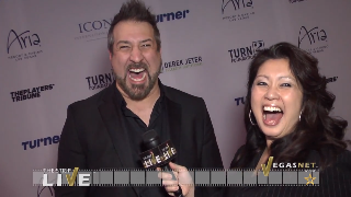 Joey Fatone (showcase) with Maria Ngo | SuccessShowcase.com