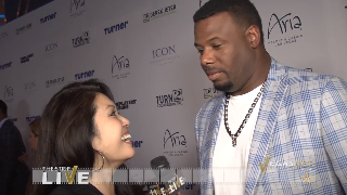 Ken Griffey Jr. (showcase) with Maria Ngo | SuccessShowcase.com