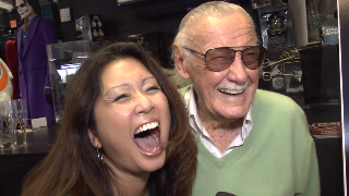 Stan Lee (showcase) with Maria Ngo | SuccessShowcase.com